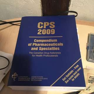 CPS Compendium Of Pharmaceutics
