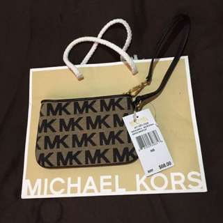Mk wristlet wallet Authentic