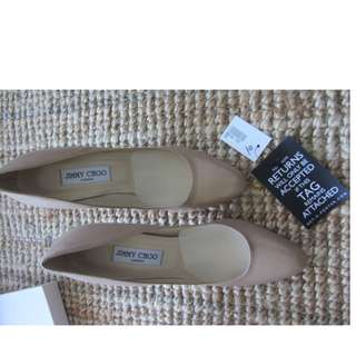 Kate Middleton Jimmy Choo Gilbert nude leather pumps,size 40, AUS 8.5