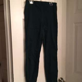 H&M Forest Green Trouser