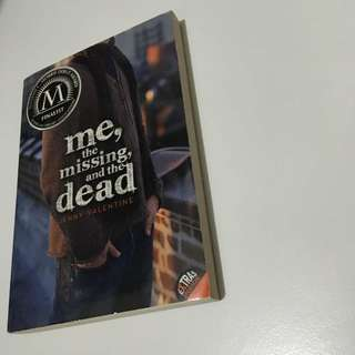 REPRICED!! Me, The Missing, And The Dead - Jenny Valentine