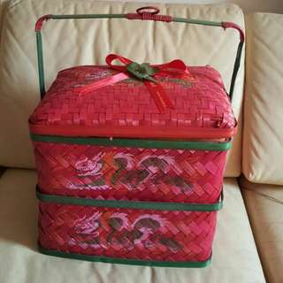 2-tier Chinese Basket