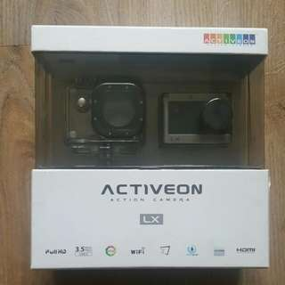 Activeon 1080p HD Action Camera With Waterproof Case