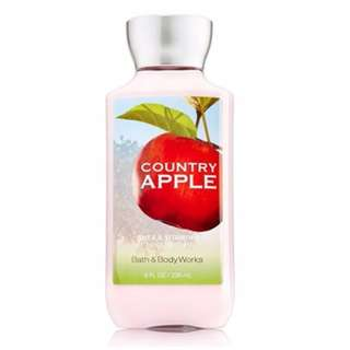 Bath & Body Works Country Apple Body lotion 236ml  FREE SHIPPING min Php500