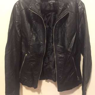 Kenneth Cole Leather Look Jacket