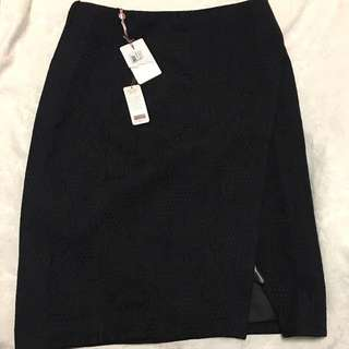 Ted Baker Jacquard Wrap Skirt