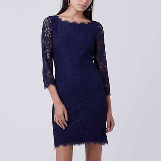 DVF Diane von Furstenberg Zarita Lace Dress