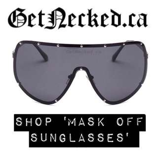 Mask Off Sunglasses