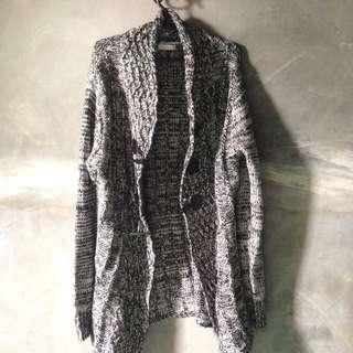 Step N Style Knitted Blazer