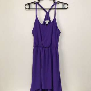 Forever 21 High-low Purple Dress