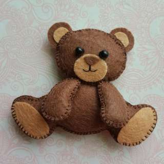 Super Cute And Tiny Teddy Bear (Handcrafted)