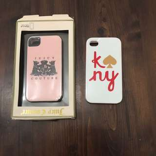 Juicy Couture X Kate Spade Iphone 4/4s Case