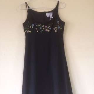 Black Dress By Sharon