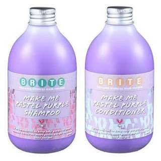 Brite Purple Shampoo And Conditioner 300ml Each