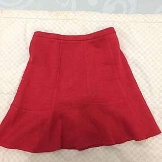 Skirt brand Zara