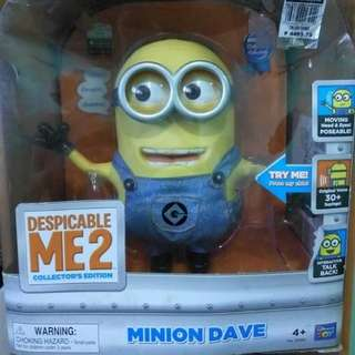 Despicable Me 2 Talking Minion Dave  by Thinkway