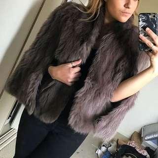 Vintage Hand Made Fur Coat
