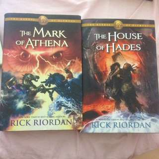 Mark Of Athena And House Of Hades Hardcover