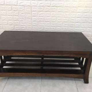 Solid Teak Wood Tv Console Or Coffee Table