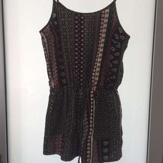 Size 10/12 Playsuit Pattern For Festival