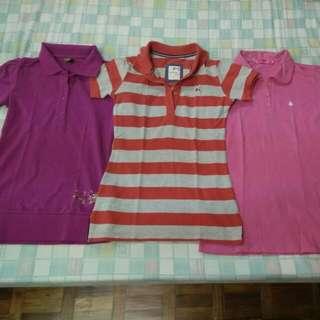 5fb7c534 REPRICED Pink Polo T-shirts (Tommy Hilfiger, Crissa, Company B),