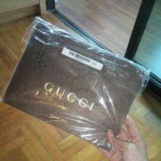 Real Gucci Plastic Bag