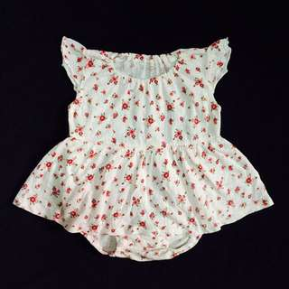 Japan Brand Onesie Dress For 6-12 Months Baby Girl Excellent Condition