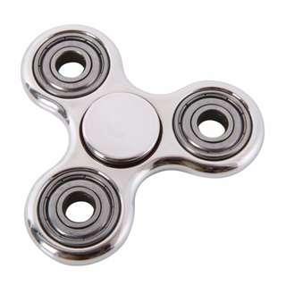 Fidget Finger Spinner Hand Focus Ultimate Spin EDC Sensory Bearing Stress Toys(Metal Fidget)