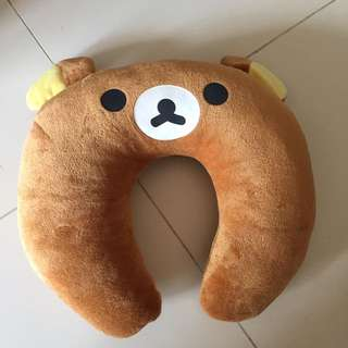 Rilakuma Neck Pillow