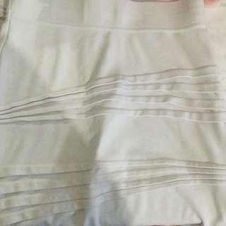 Bardot White Skirt
