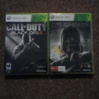 Call Of Duty Black Ops 2 And Dishonored