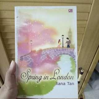 Preloved Novel Ilana Tan Spring In London