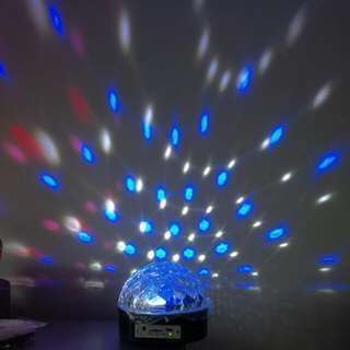 LED Magic Ball Light With remote Control