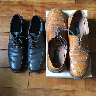 Calvin Klein Chocolate Dress Shoes