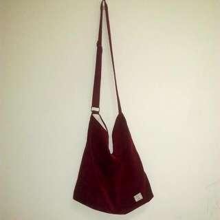 文青復古風側背包