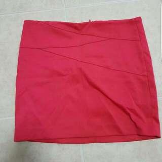 Bettina Liano Pink Party Mini Skirt