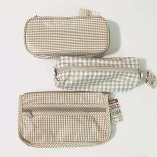 Muji Pencil Case / Cosmetic Bag 無印良品筆袋化妝袋