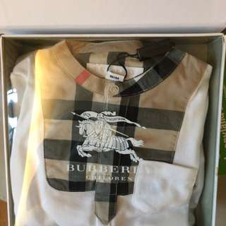Burberry 6months Long Sleeves