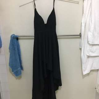 Black Evening Gown - Size 12/14