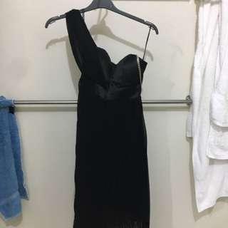 Black Cocktail Dress - Size 8