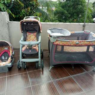 Safety 1st Baby Crib, Stroller and Car Seat