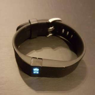 Fitbit Charge HR Black (Large) [Meetup at Katong SC only]