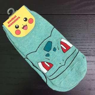 Pokémon socks 寵物小精靈襪(奇異種子)