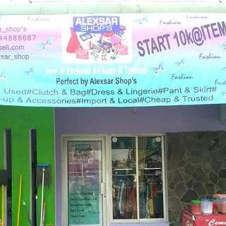 SOONER OPENING OF Alexsar_shop At MOH.KAFII 1 JAKSEL