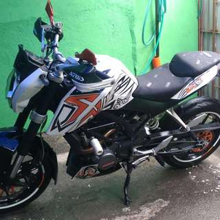 KTM DUKE 200 RUSH
