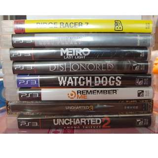 (Fire sale!) PS3 Games