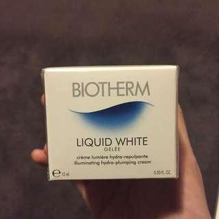 Biotherm Liquid White Gelee Illminating Hydra-Plumping Cream 15ml