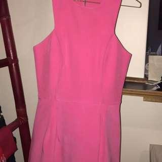 Nicholas Pink Dress Size 10
