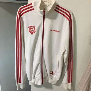 Adidas England World Cup Sweater Jacket
