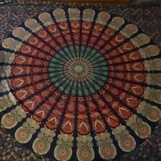 Mandala Blanket / Rug / Wall Decor